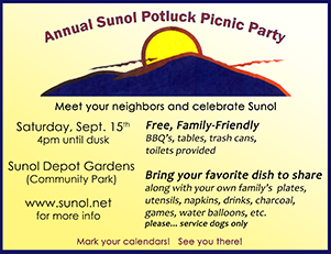 potluck picknic party
